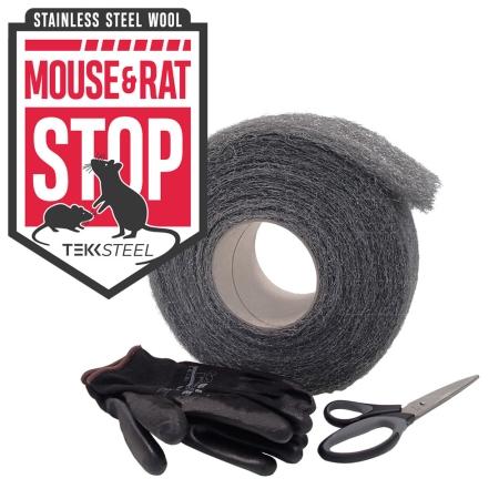Mouse & Rat STOP Steel Wool - SET 1kg