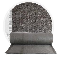 Stainless Steel Wool 434 crossed 1000 mm - 30 μm, ± 1200 gr/m2